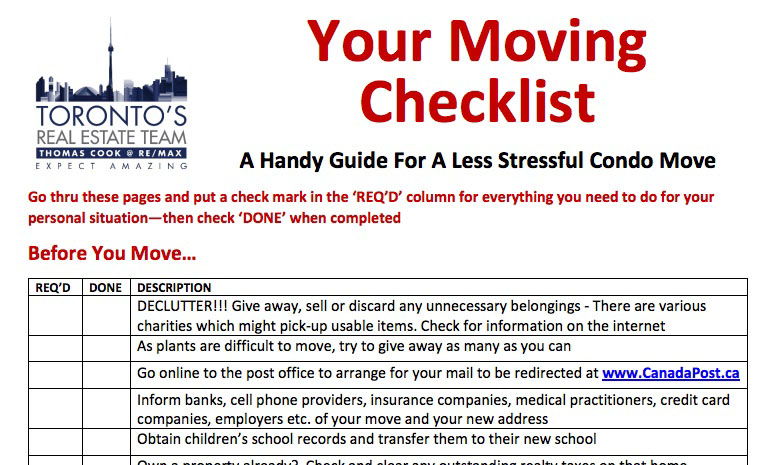 Planning A Stress-Free Move