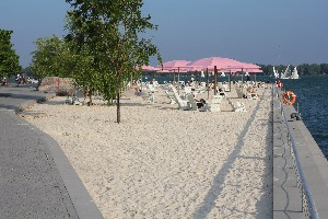 Sugar Beach, Harbourfront East